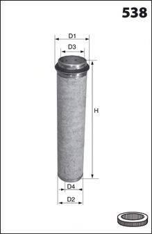 MECAFILTER FA3407 Фильтр добавочного воздуха