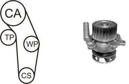 AIRTEX WPK937701 Водяной насос + комплект зубчатого ремня