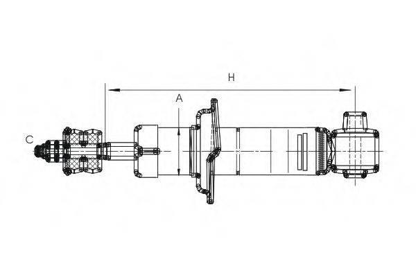 SCT GERMANY Z1596 Амортизатор
