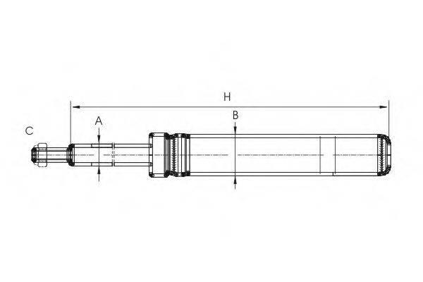 SCT GERMANY Z8542 Амортизатор