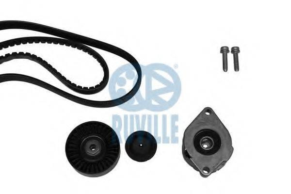 RUVILLE 5576081 Поликлиновой ременный комплект