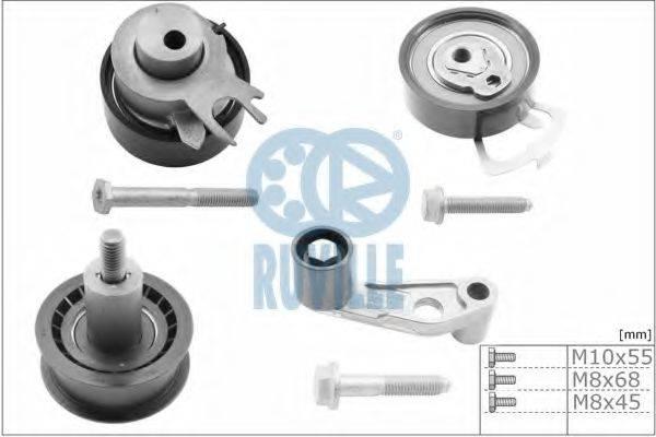 RUVILLE 5545650 Комплект роликов, зубчатый ремень