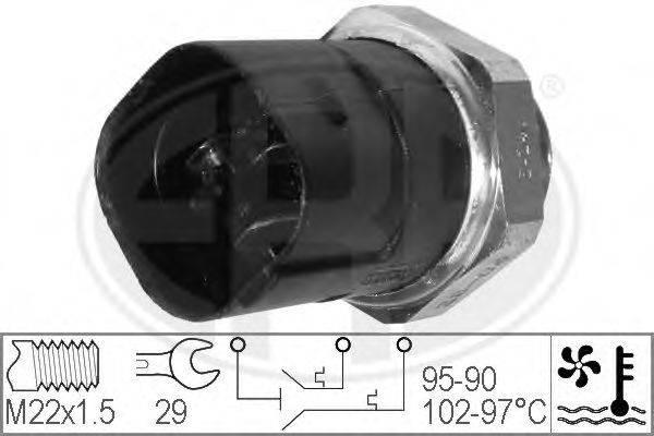 ERA 330280 Термовыключатель, вентилятор радиатора