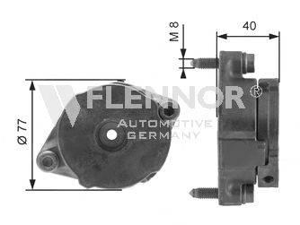 FLENNOR FA99048 Ролик натяжной ремня генератора
