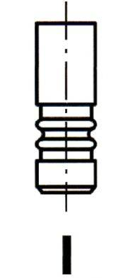 IPSA VL131700 Впускной клапан