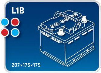 IPSA TM45 Аккумулятор автомобильный (АКБ)