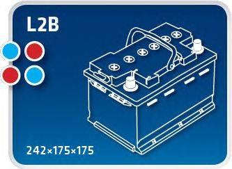 IPSA TM55 Аккумулятор автомобильный (АКБ)