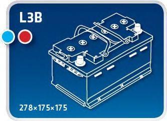 IPSA TM70 Аккумулятор автомобильный (АКБ)