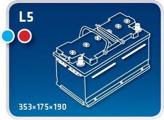 IPSA TME92 Аккумулятор автомобильный (АКБ)