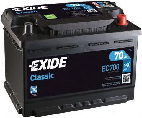 EXIDE EC700 Аккумулятор автомобильный (АКБ)