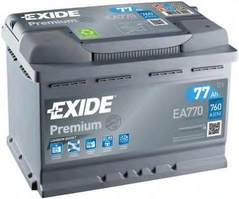 EXIDE EA770 Аккумулятор автомобильный (АКБ)