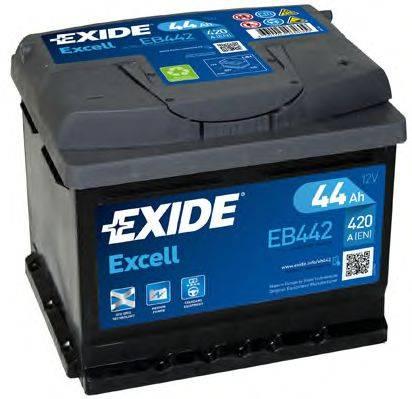 EXIDE EB442 Аккумулятор автомобильный (АКБ)