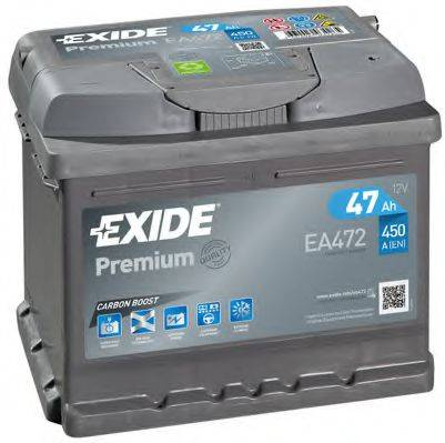 EXIDE EA472 Аккумулятор автомобильный (АКБ)