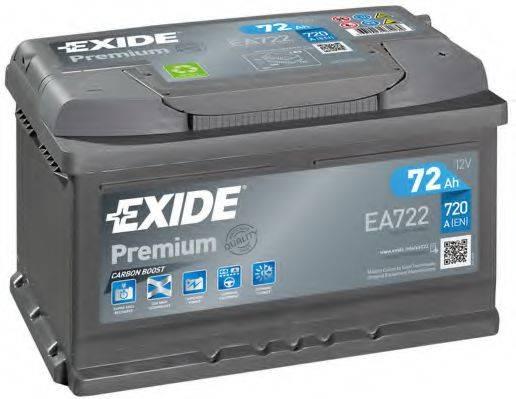 EXIDE EA722 Аккумулятор автомобильный (АКБ)