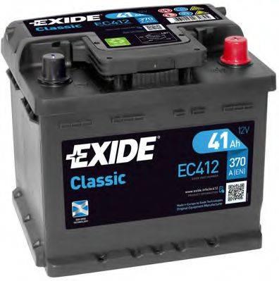 EXIDE EC412 Аккумулятор автомобильный (АКБ)