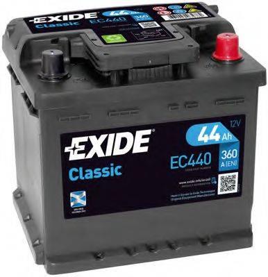 EXIDE EC440 Аккумулятор автомобильный (АКБ)