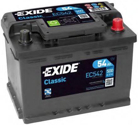 EXIDE EC542 Аккумулятор автомобильный (АКБ)