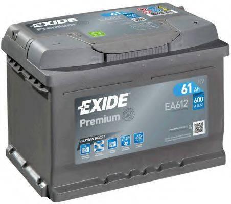 EXIDE EA612 Аккумулятор автомобильный (АКБ)