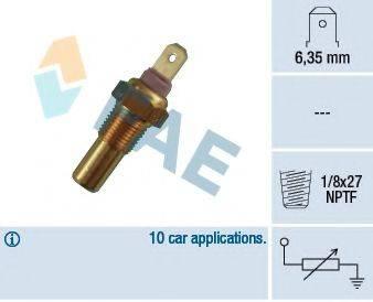 Датчик, температура охлаждающей жидкости FAE 31270