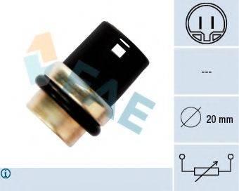 FAE 33610 Датчик, температура охлаждающей жидкости