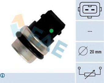 FAE 33620 Датчик, температура охлаждающей жидкости
