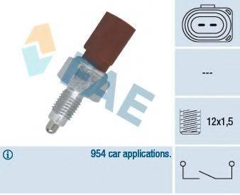 FAE 40675 Выключатель, фара заднего хода