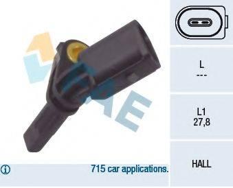FAE 78064 Датчик АБС