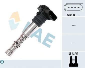 FAE 80202 Катушка зажигания