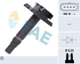 FAE 80239 Катушка зажигания