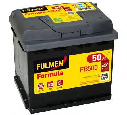 FULMEN FB500 Аккумулятор автомобильный (АКБ)