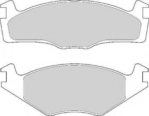 NECTO FD6681A Тормозные колодки