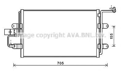 AVA QUALITY COOLING AI5130 Конденсатор кондиционера