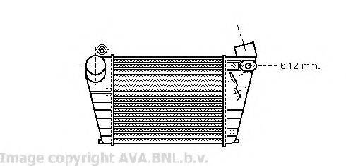 AVA QUALITY COOLING VW4200 Интеркулер