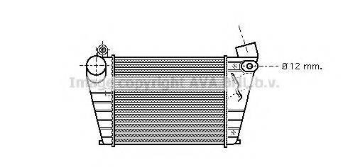 AVA QUALITY COOLING VWA4200 Интеркулер