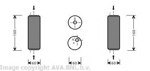AVA QUALITY COOLING VWD014 Осушитель кондиционера