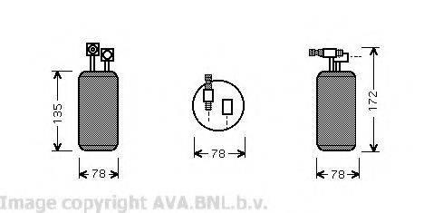 AVA QUALITY COOLING VWD052 Осушитель кондиционера
