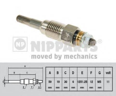NIPPARTS J5715013 Свеча накаливания