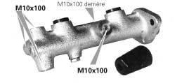 MGA MC2200 Главный тормозной цилиндр