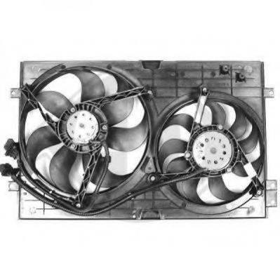 DIEDERICHS 2213001 Вентилятор системы охлаждения двигателя