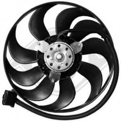 DIEDERICHS 2213203 Вентилятор системы охлаждения двигателя