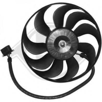 DIEDERICHS 2213301 Вентилятор системы охлаждения двигателя