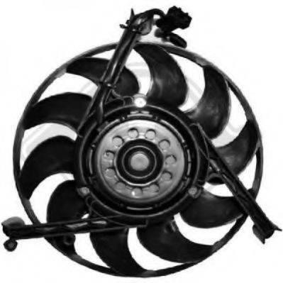 DIEDERICHS 8227010 Вентилятор системы охлаждения двигателя