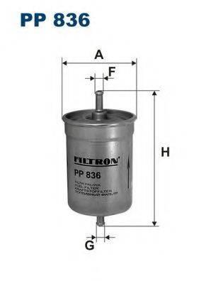FILTRON PP836 Топливный фильтр