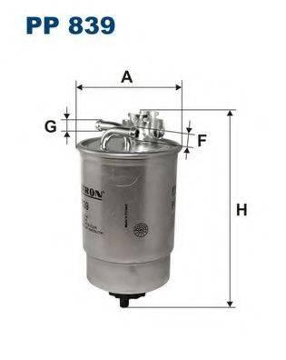 FILTRON PP839 Топливный фильтр