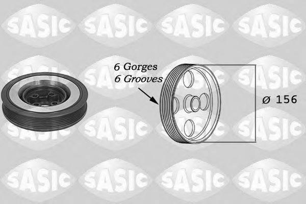 SASIC 9001802 Ременный шкив, коленчатый вал