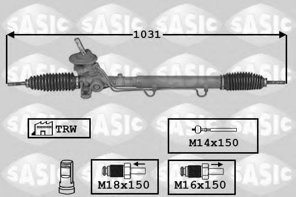 SASIC 7006151 Рулевой механизм