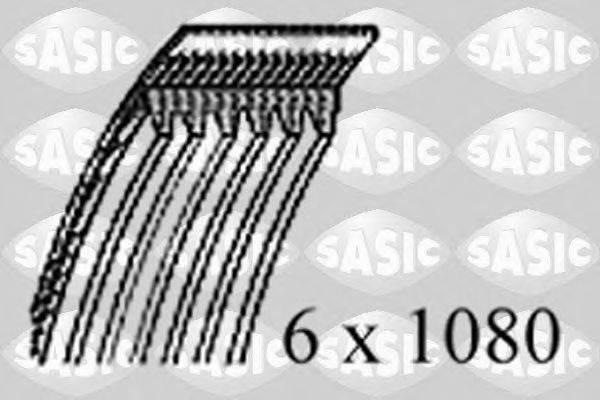 SASIC 1770086 Поликлиновой ремень
