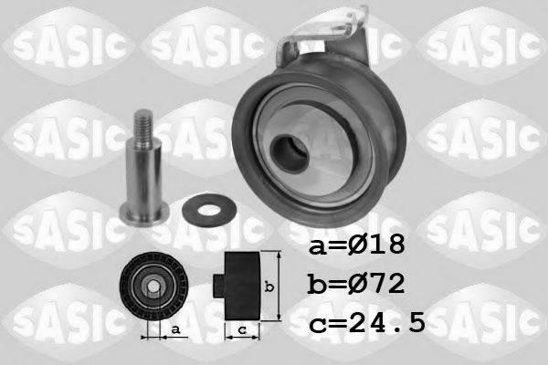 SASIC 1706078 Натяжной ролик ремня ГРМ