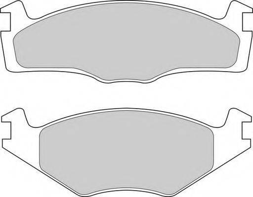DURON DBP391072 Тормозные колодки