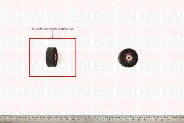 FAI AUTOPARTS T1027 Натяжной ролик, поликлиновой  ремень